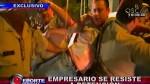 Conductor ebrio protagonizó tremendo escándalo en Miraflores - Noticias de carla cilloniz fassioli