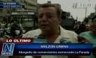 Malzón Urbina: