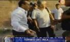 Hinchas de San Simón le lanzan piedra a técnico de Alianza Lima