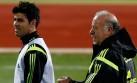 Del Bosque ya prueba a Diego Costa como '9' titular de España