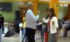Burga y su curioso baile en inauguración de Villa Deportiva