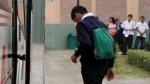 Minedu evalúa postergar clases en 31 colegios de Lima - Noticias de meliton carbajal