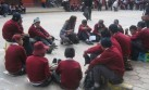 Huancayo: alumnos de colegio iniciarían clases en la calle