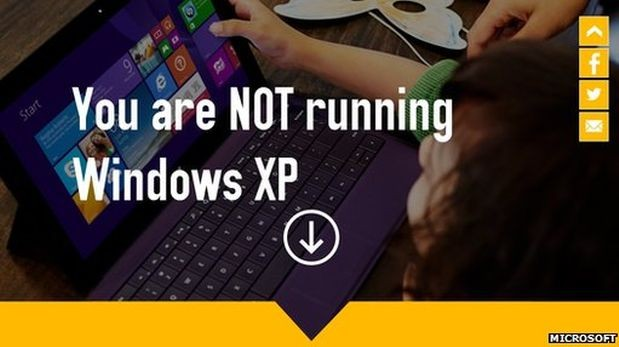 Windows XP tiene los días contados