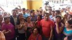 La Parada: minoristas marcharon hacia la Municipalidad de Lima - Noticias de walter ibanez