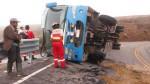 Dos accidentes dejan 17 personas heridas - Noticias de rene rivero