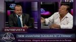 Malzón Urbina y Augusto Thorndike se insultaron en TV - Noticias de augusto thorndike