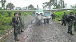 Narcoavionetas ahora operan en carreteras y trochas carrozables - Noticias de juan leon almenara