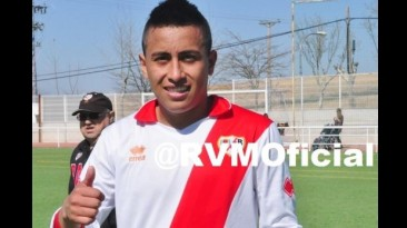 Christian Cueva anotó tres goles en debut con Rayo Vallecano B