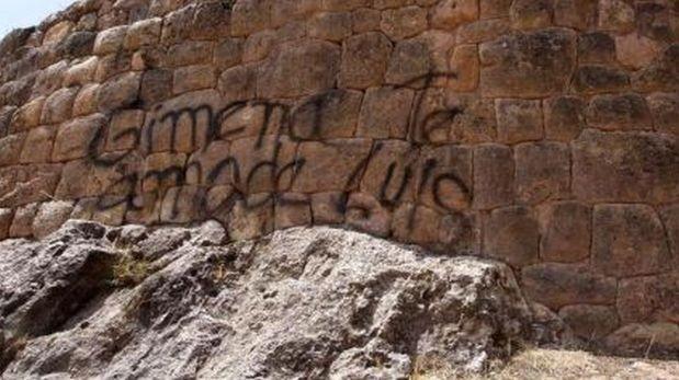 Pintas en muros incas de Cusco: ¿Cómo enfrentar ese vandalismo?