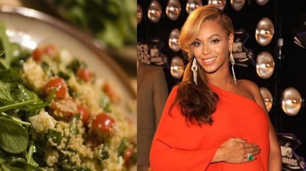 Beyoncé adora la quinua y la incluye en esta fresca ensalada