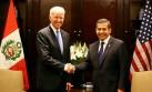 EEUU habría expresado a Humala preocupación por Venezuela