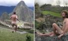 Desnudarse frente a Machu Picchu: ¿Una nueva moda?