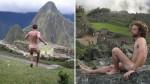 Desnudarse frente a Machu Picchu: ¿Una nueva moda? - Noticias de liam timothy