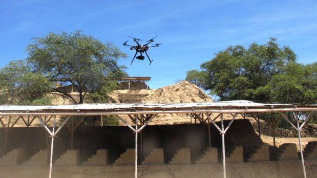 Drones se usarán para investigación arqueológica