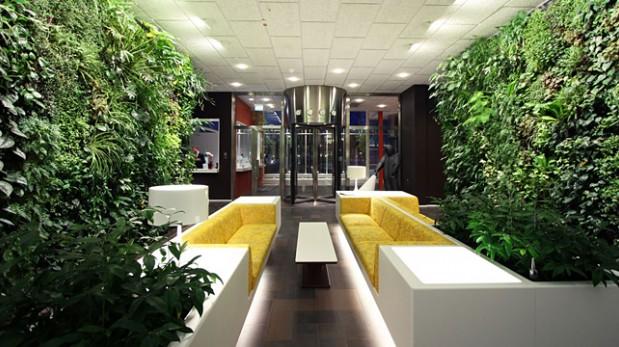 Interiores de casas con jardin v rias - Diseno de jardines interiores ...