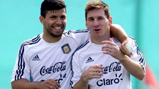 """""""¿Y vos quién sos?"""" El día que el 'Kun' Agüero conoció a Messi"""