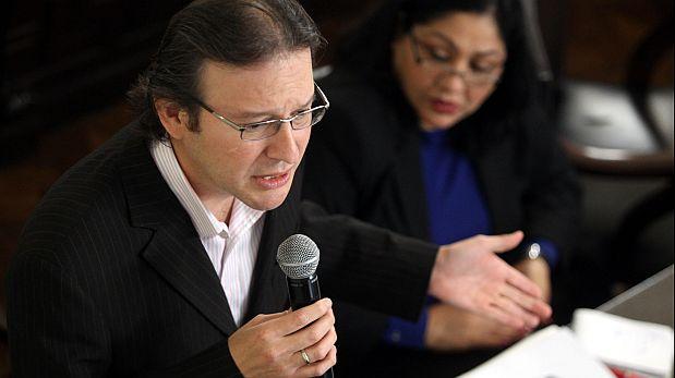 """""""Unidos vencimos en la revocación, unidos ganados en las complementarias y no tengo dudas que esa fórmula vencerá el 5 de octubre"""", dijo Valenzuela. (Foto: Consuelo Vargas)"""