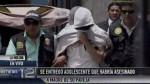 Crimen en La Molina: joven de 16 años negó ser el asesino - Noticias de hermelinda carrera