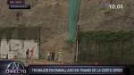 Costa Verde: tránsito fue reabierto en el tramo de Barranco - Noticias de william argumedo