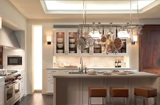 5 ideas creativas para que tu cocina luzca moderna ideas for Muebles de cocina colgantes