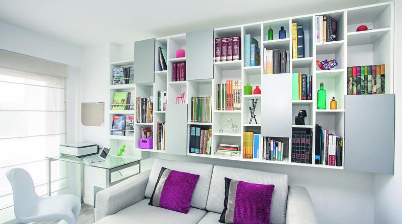 Estantes y libreros estos tiles dise os le dan vida a tu - Estanterias diseno para libros ...