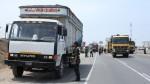 Panamericana Sur: intervienen a más de 100 camiones y volquetes - Noticias de clever vidal vasquez