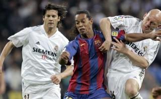 La inolvidable y mágica noche de Ronaldinho en el Bernabéu