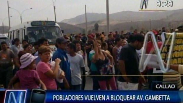 Callao: Colapso de avenida Nestor Gambetta encarecería 50% comercio exterior