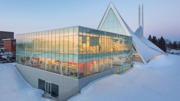 Biblioteca en Canadá