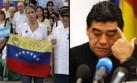 Catherine Fulop acusa a Maradona de apoyar a Maduro por dinero