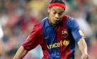 Ronaldinho y una de las jugadas con que maravilló al Camp Nou