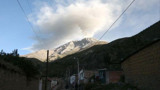 Población cercana al volcán Ubinas se niega ser evacuada