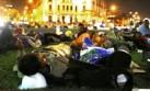 Plaza Dos de Mayo es nuevamente campamento de protestas