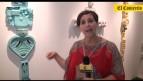 Patricia Camet y su obra hecha a base de materiales de desecho