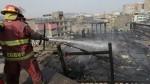 Incendio cerca de Palacio de Justicia alarmó a vecinos - Noticias de miguel aljovin