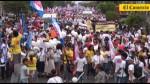Así se desarrolló la multitudinaria Marcha por la Vida - Noticias de francisco lazo