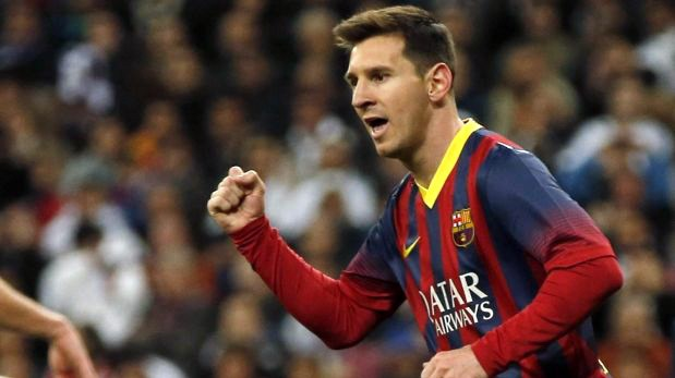 Barcelona venció 4-3 a Real Madrid con 'hat trick' de Messi