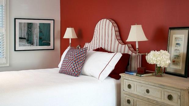 Sin miedo: Ideas para pintar tu cuarto del color de la pasión | Casa ...