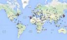Mapa: Las grandes tragedias aéreas que conmovieron al planeta