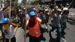 Falsos mineros cobran S/.5.000 para generar caos en las marchas - Noticias de celso cajachagua