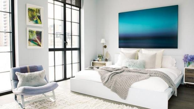Colores de pintura para dormitorios - Aprender a pintar paredes ...