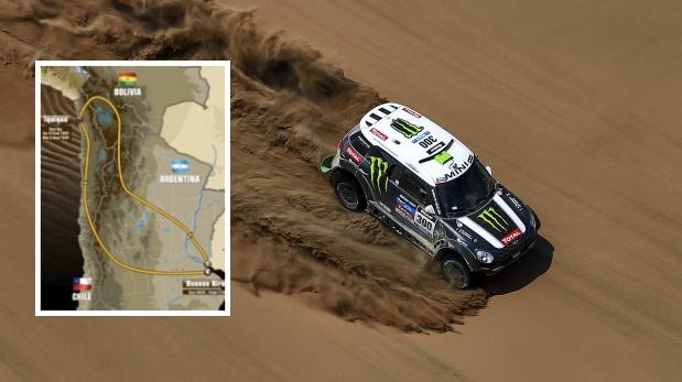 Dakar 2015: ruta oficial incluye a Argentina, Chile y Bolivia