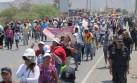 Mineros de Nasca rechazan acuerdo y continuarán con paro