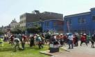 El feroz ataque de mineros a la policía en Cercado de Lima