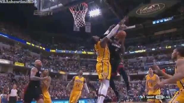 """LeBron y sus golpes en la NBA: """"No soy maestro de kung-fu"""""""