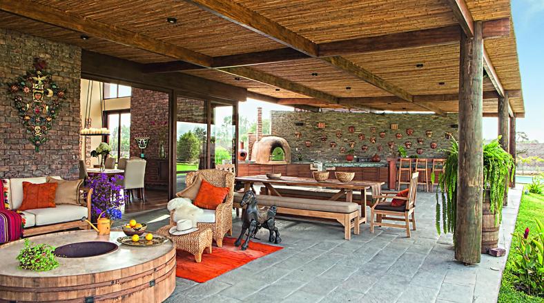 Refugios en el campo casas con una vista privilegiada - Casa y campo decoracion ...
