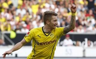 Borussia Dortmund remontó 3-2 al Stuttgart en la Bundesliga