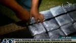 La Molina: más de media tonelada de cocaína fue incautada - Noticias de jorge ignacio cervellon aparicio