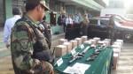 Droga en La Molina: policía presentó a los nueve detenidos - Noticias de ana bretaida